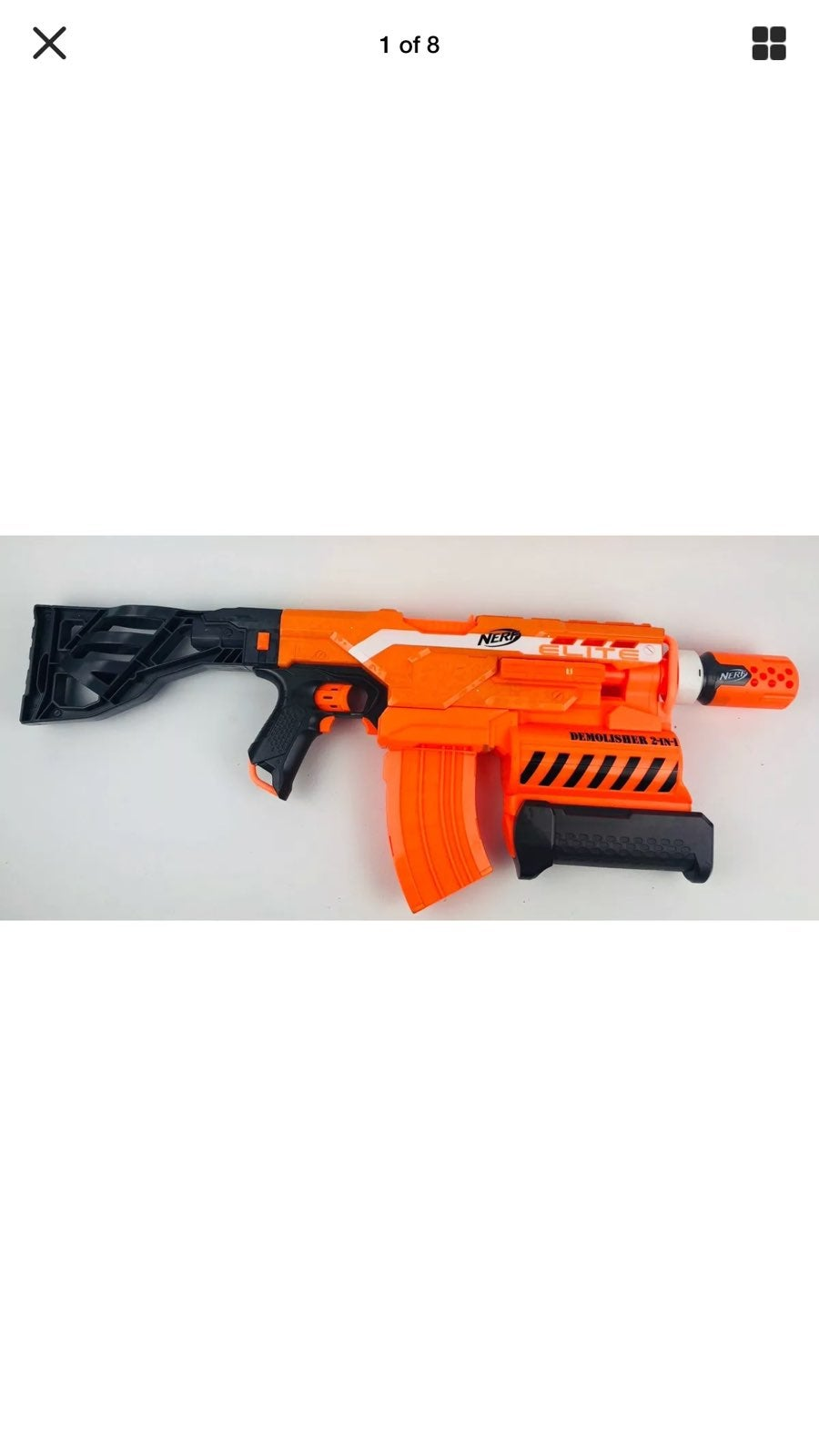 Nerf Demolisher 2-in-1 Dart Blaster