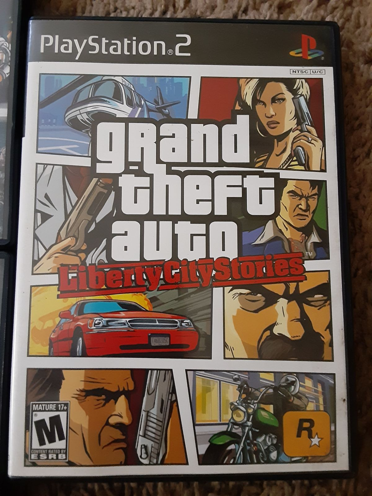 Grand Theft Auto Liberty City Stories ps