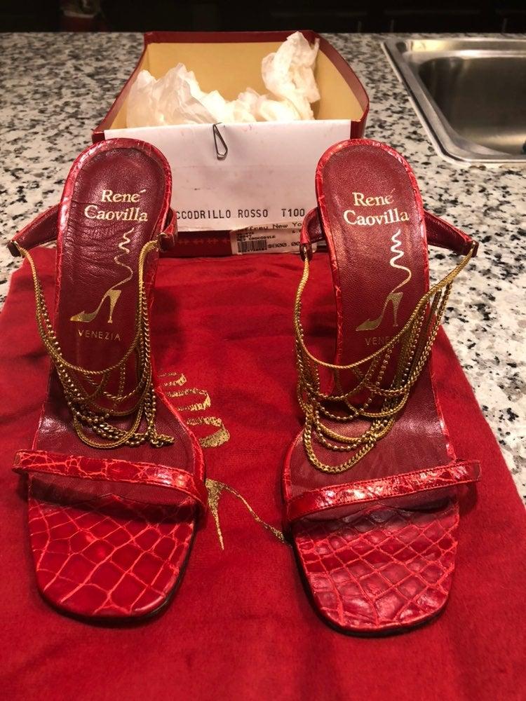 Rene Caovilla heels / Size:6 / MSRP:$800