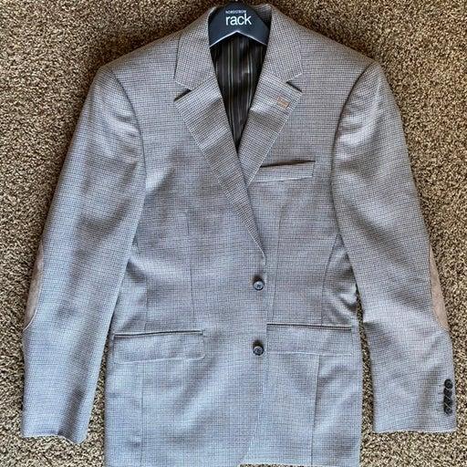 Stafford 38 R Suit Jacket Sport Coat D