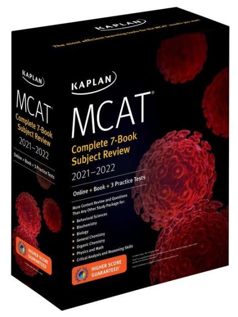 MCAT Complete 7-Book Subject Review