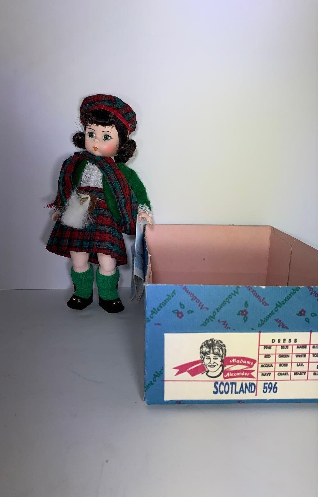 Madame Alexander Doll Scotland #596