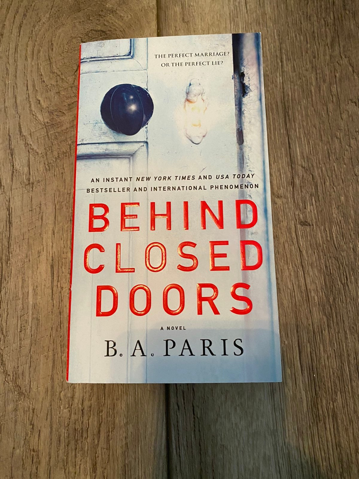 B .a Paris behind closed doors