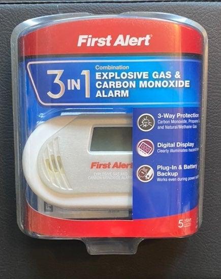 3-in-1 Gas & Carbon Monoxide Alarm