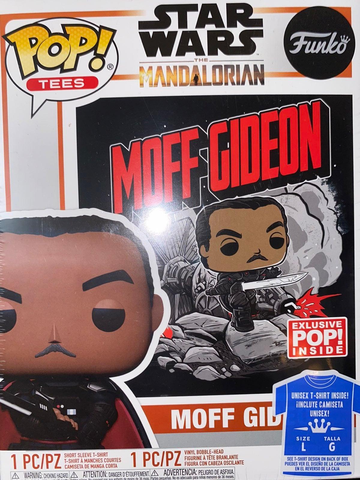 Moff Gideon GITD Pop And Tee Funko Pop