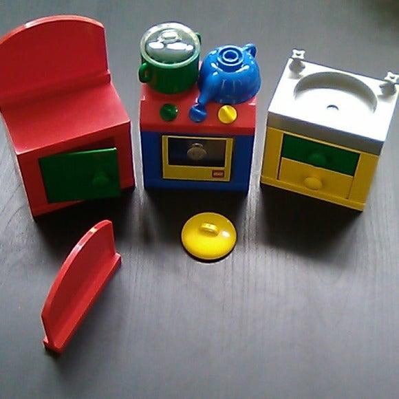 Lego kitchen set bundle