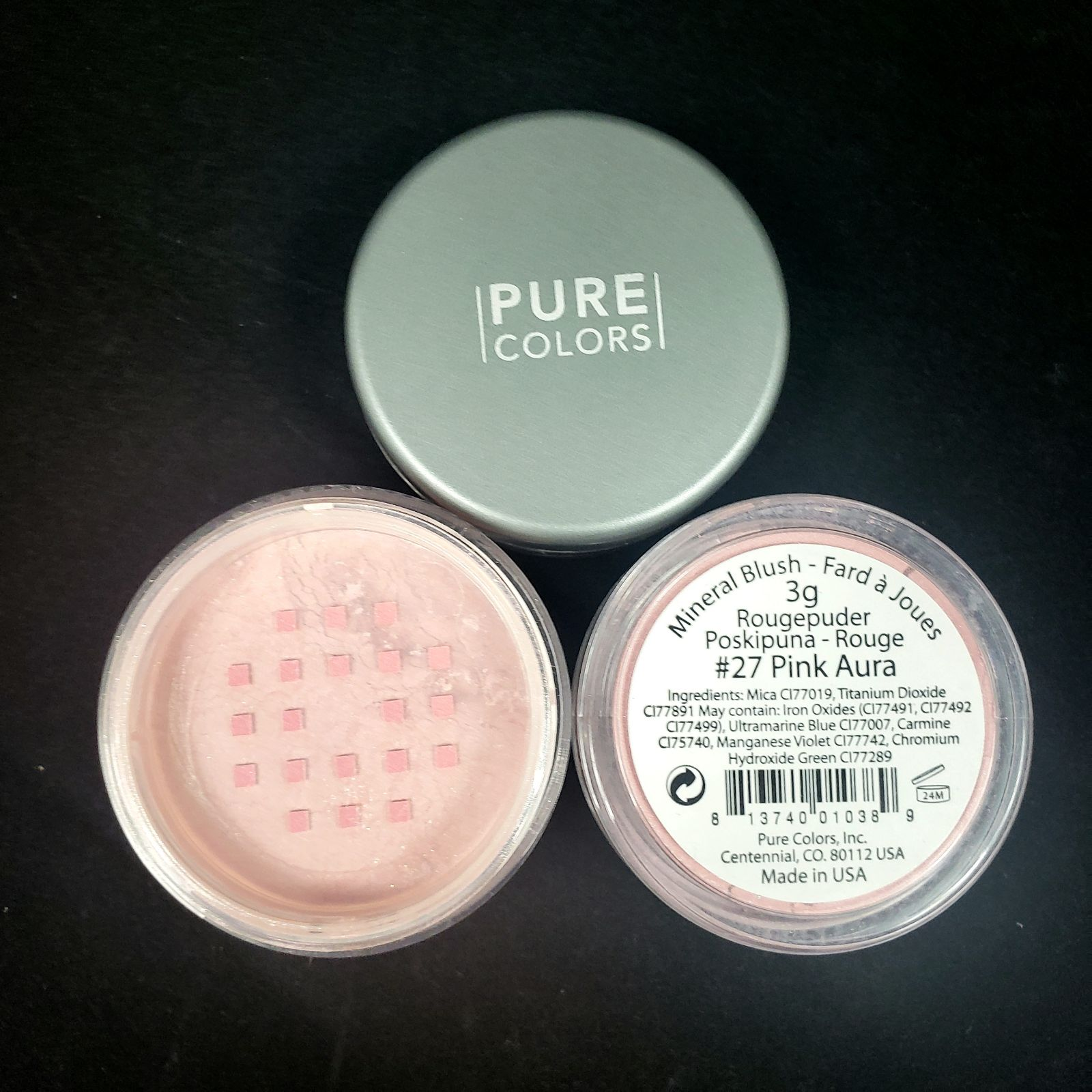 Pure Color #27 Pink Aura Mineral Blush
