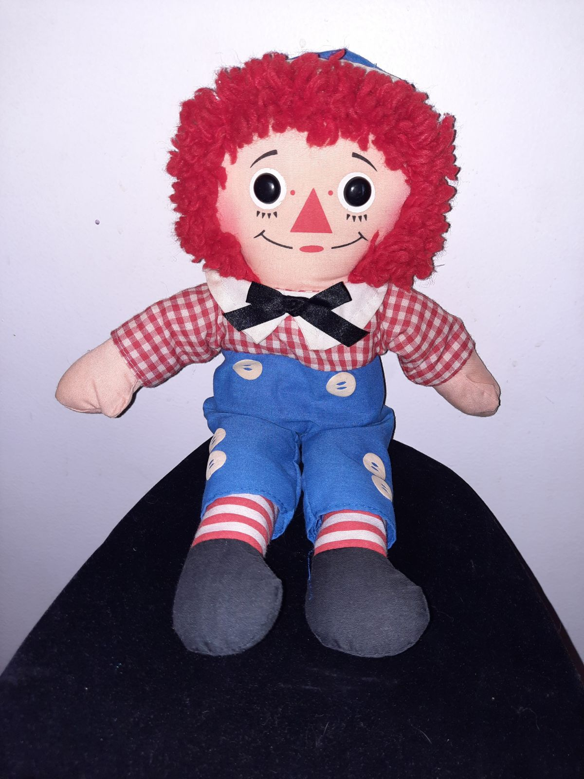 Vintage 1987 raggedy andy doll