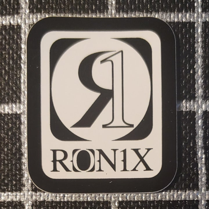 Small Ronix Sticker Decal