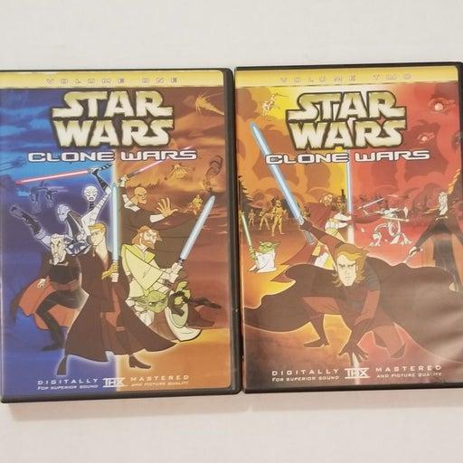 Star Wars Clone Wars Volume 1 & 2
