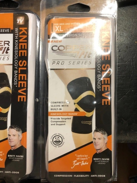Copper Fit Pro Series Compression Knee1