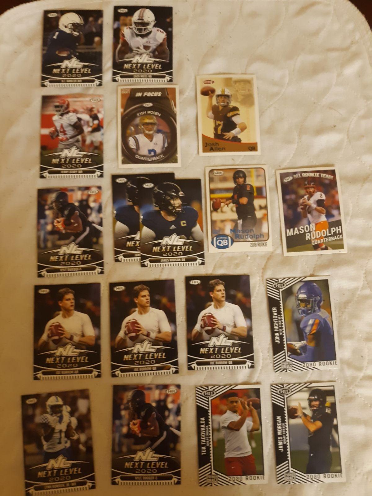 17 sage rookie football cards