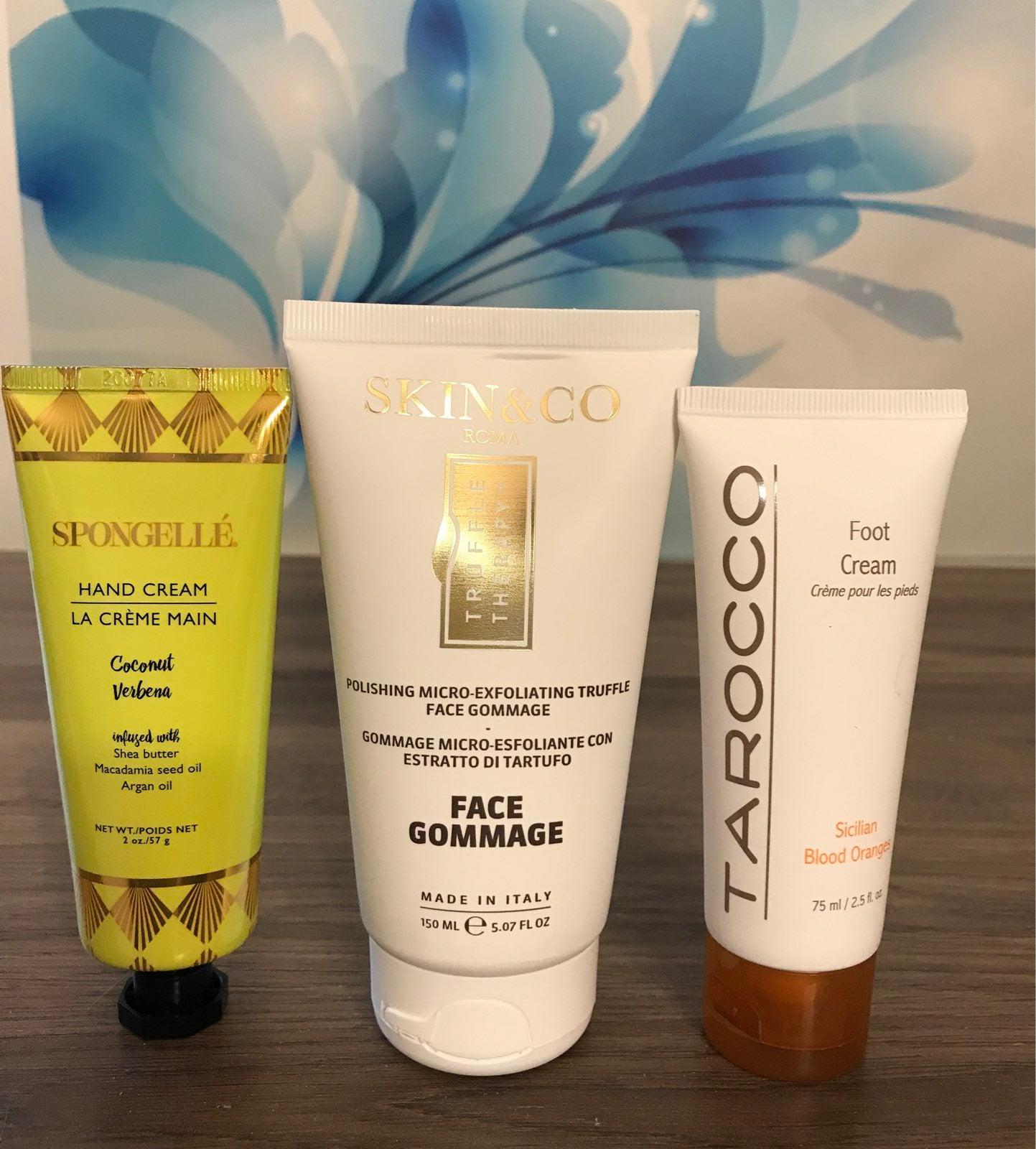 Spongelle, Tarocco & Skin & Co