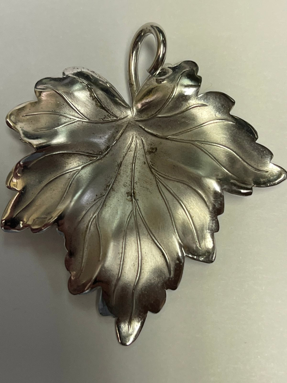 925 Sterling Silver floral pin/pendant