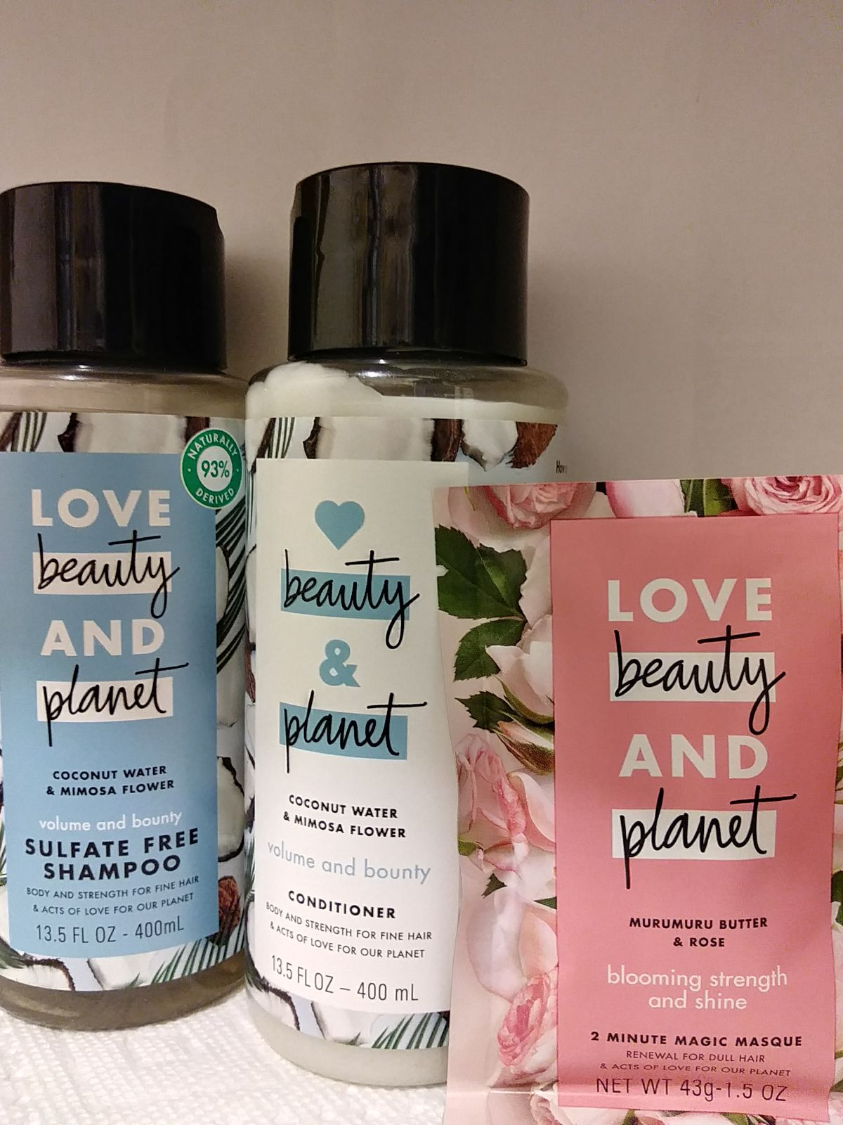 Love Beauty and Planet bundle