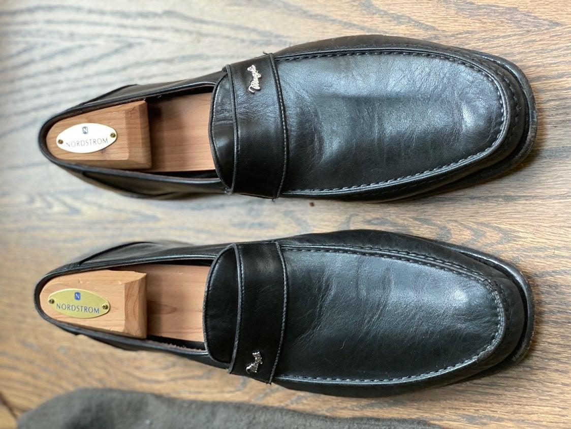 Men's Bruno Magli Malazu Black Leather S