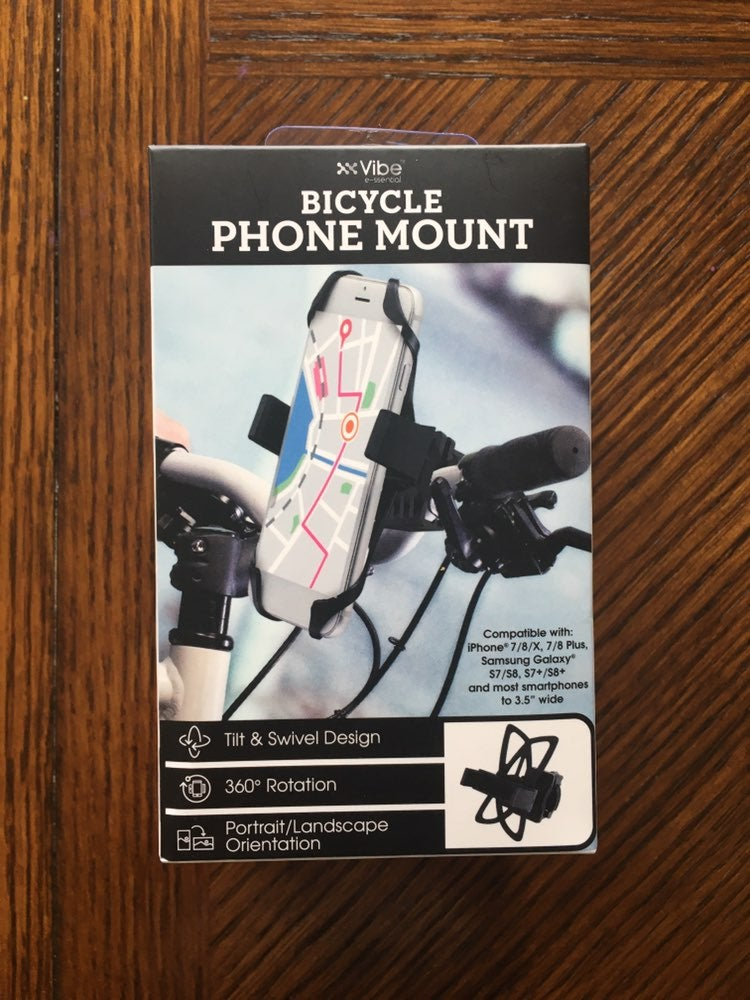 NWT bicycle phone mount black