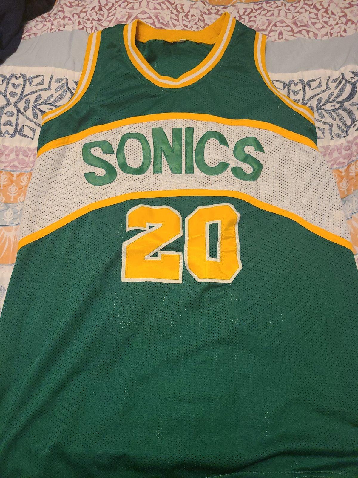Sonics jersey
