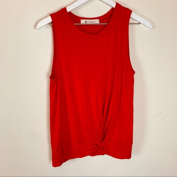 Impeccable Pig Anthropologie S Red Tank