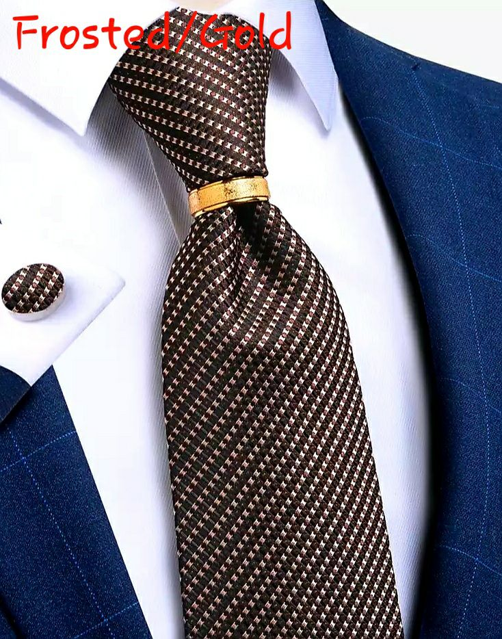 Necktie Ring, Tie Accessory, Stainless
