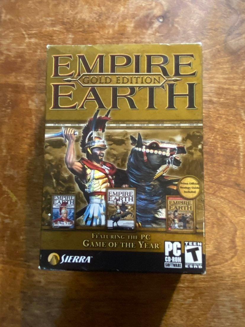 Empire Earth Gold Edition Big Box PC GAM