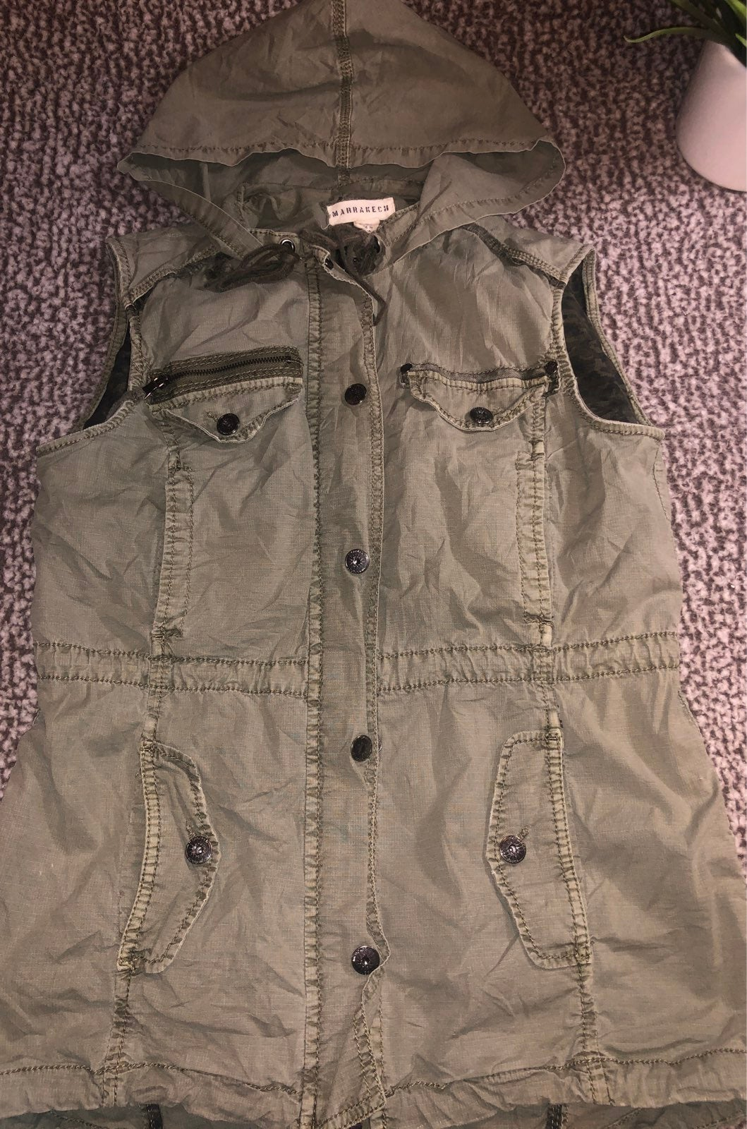 Marrakech Anthropologie Utility Vest