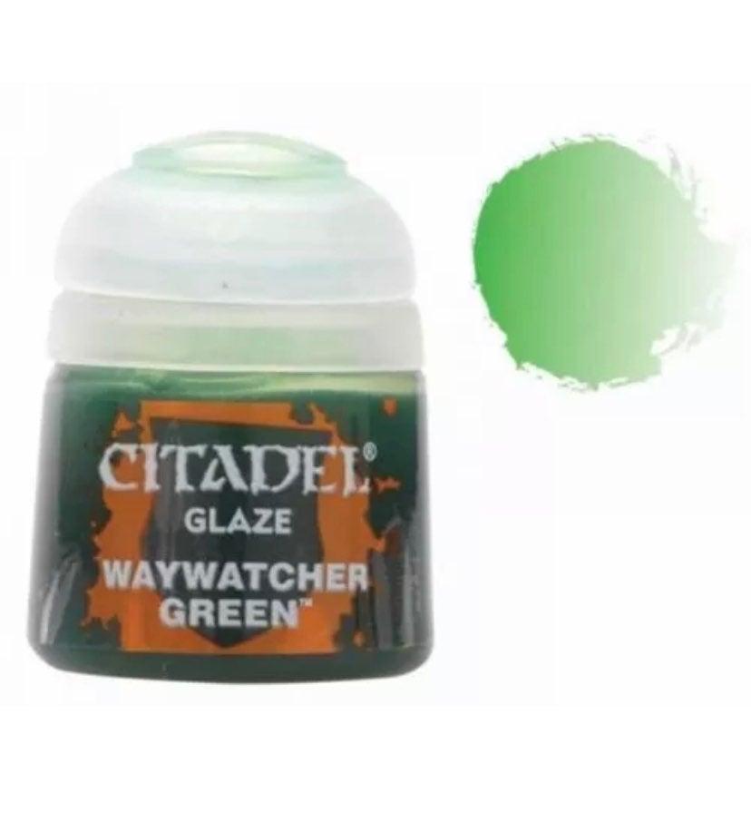Citadel Waywatcher green glaze paint