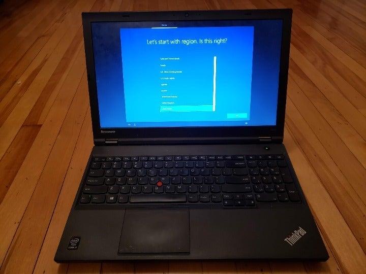 Lenovo ThinkPad W540 15.6in. Laptop