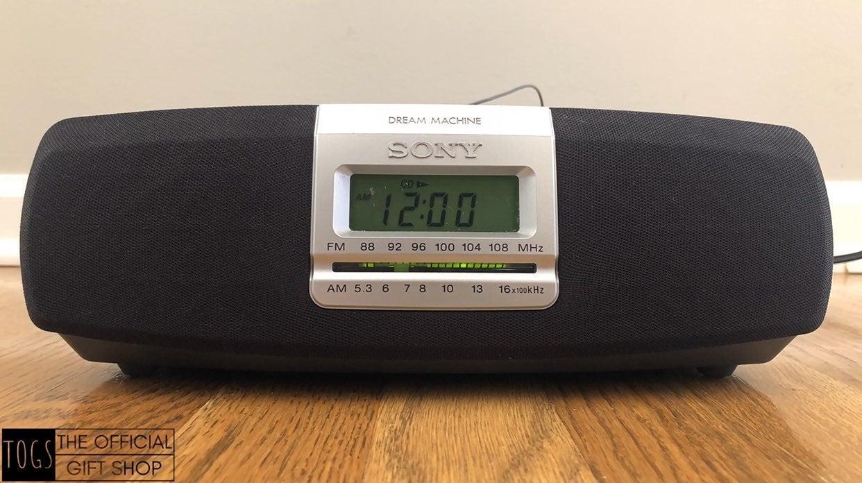 SONY Dream Machine ICF-CD821 Alarm Clock
