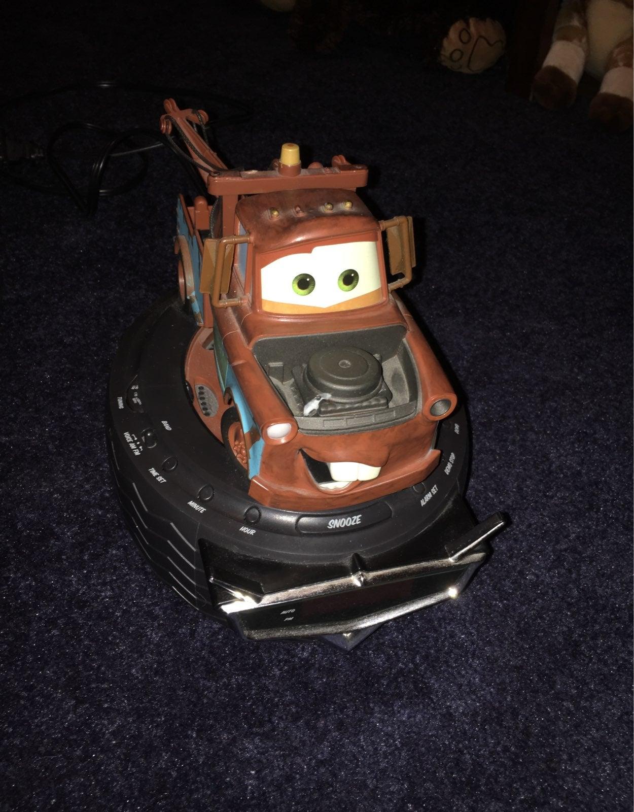 Tow Mater Alarm clock/radio