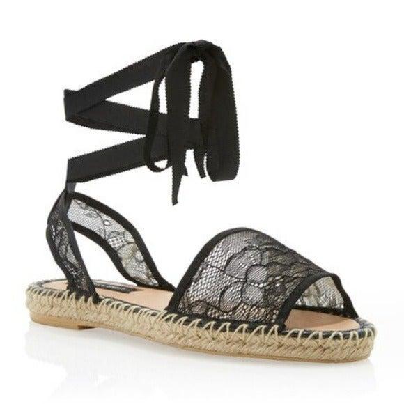 WHITE HOUSE Black Market Lace Sandals
