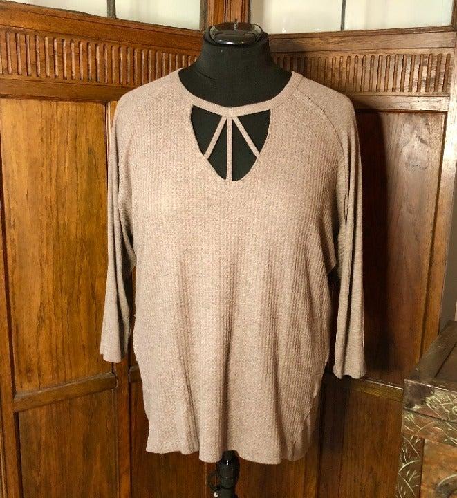 NWT-Democracy Dolman Sleeve Knit Top, 1X