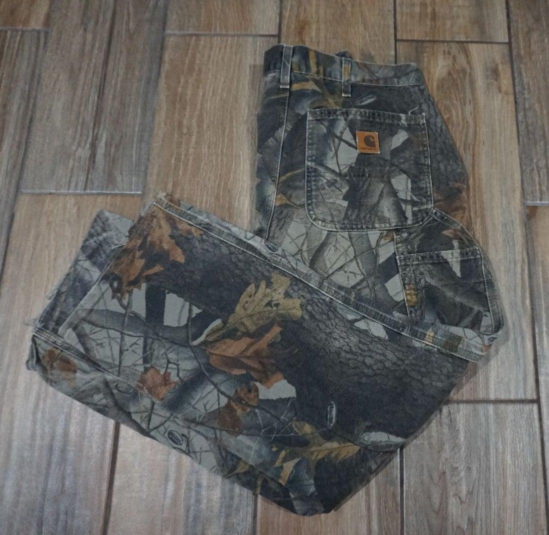 Carhartt Camo Carpenter Pants