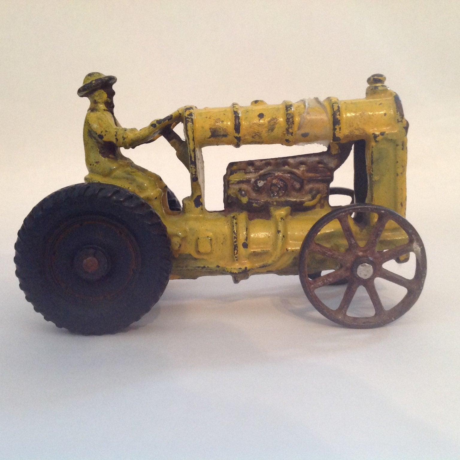 Antique Cast Iron Tractor
