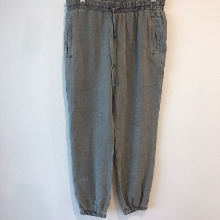 Bella Dahl Gray Drawstring Pants Sz XS