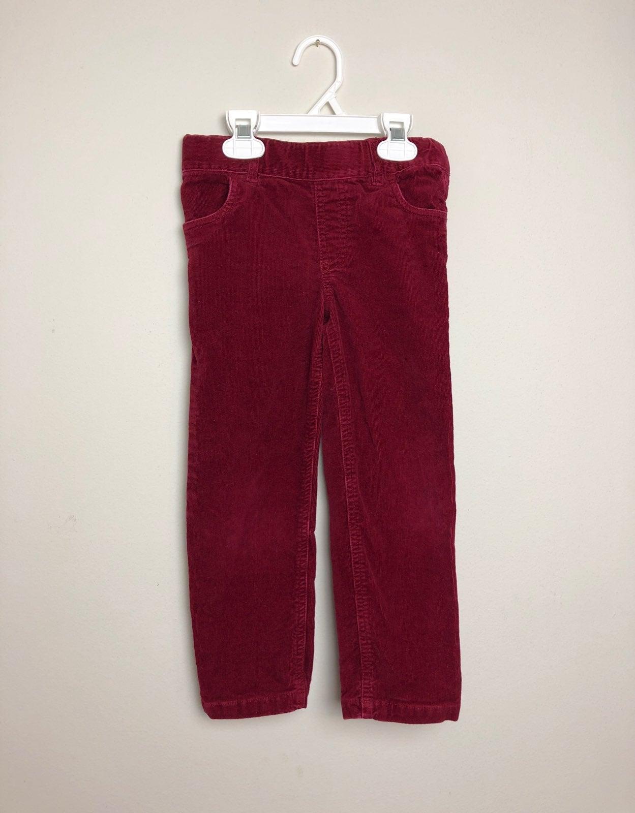 Primary.com Burgundy Corduroy Pants 5