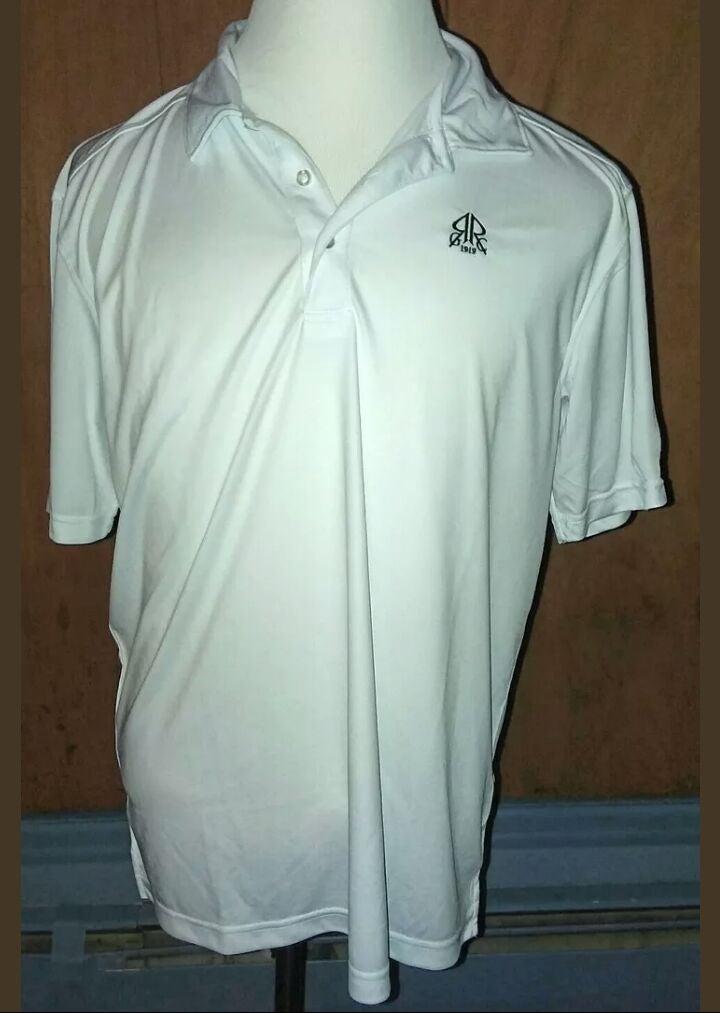 Clique White Polo Shirt Sleeve Shirt Lar