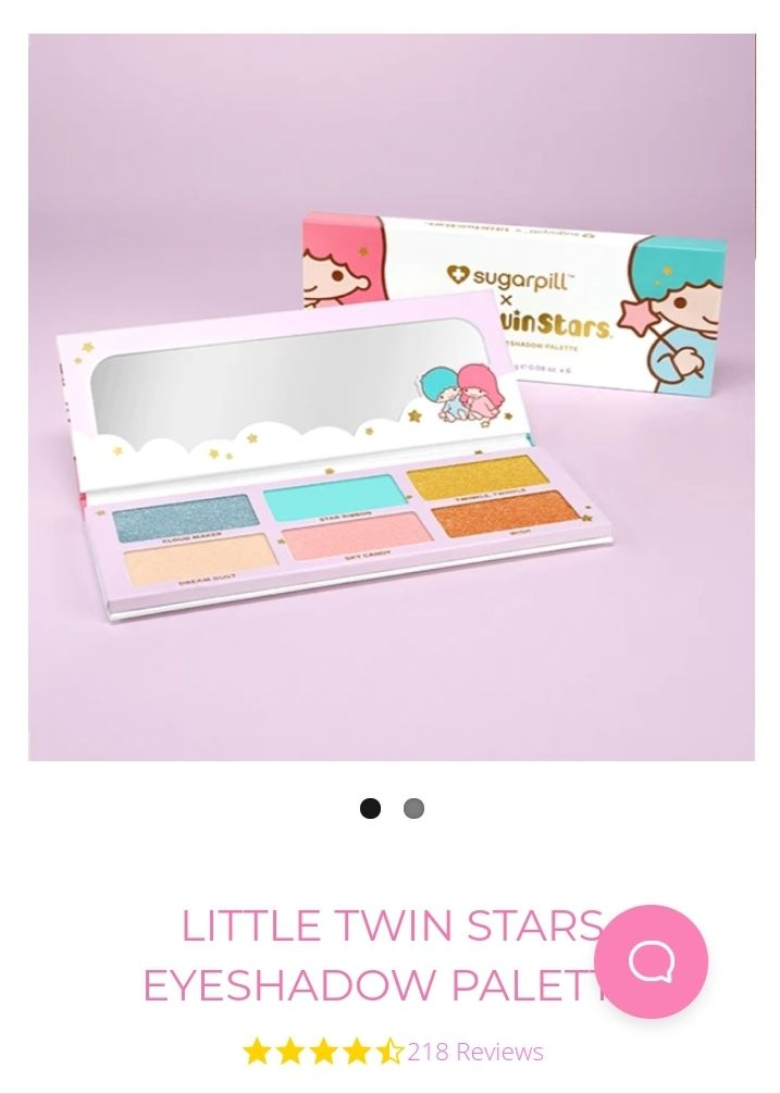 LE sugar pill little twin star palette