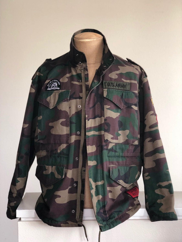 ASOS Men's Camo Jacket w/ Patches