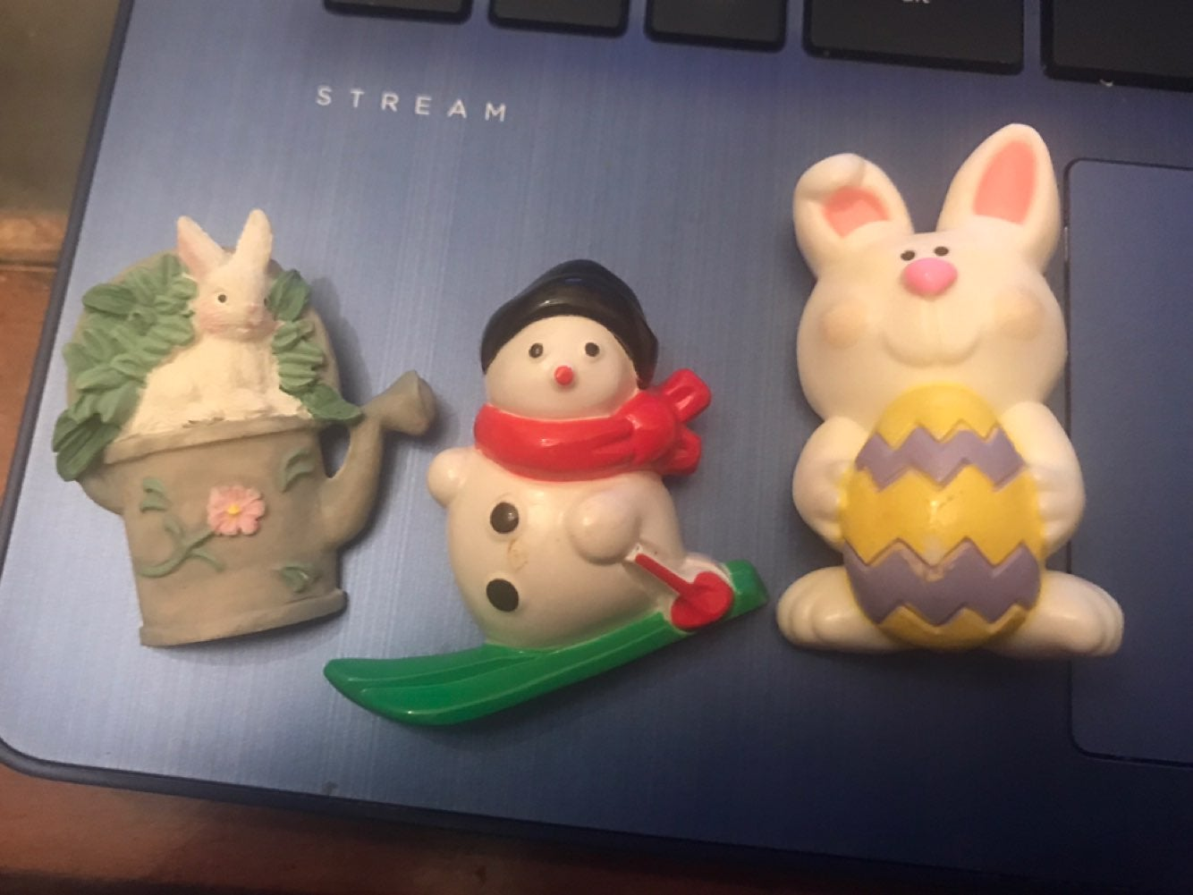 Vintage seasonal pins