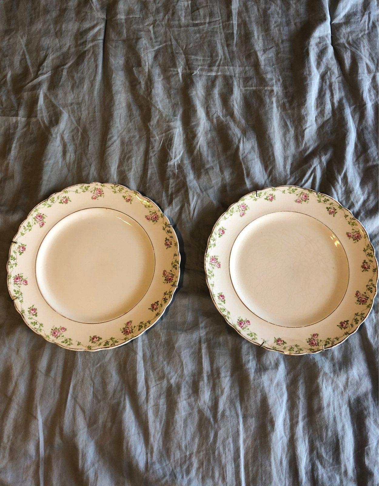 Warwick China Plates