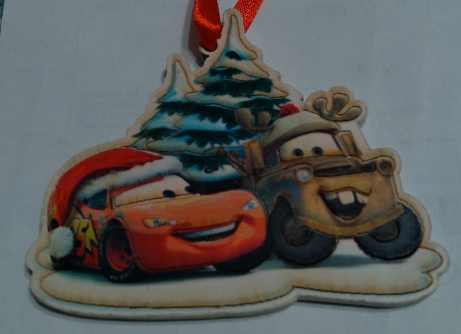 Disney/pixar Cars Christmas Ornament