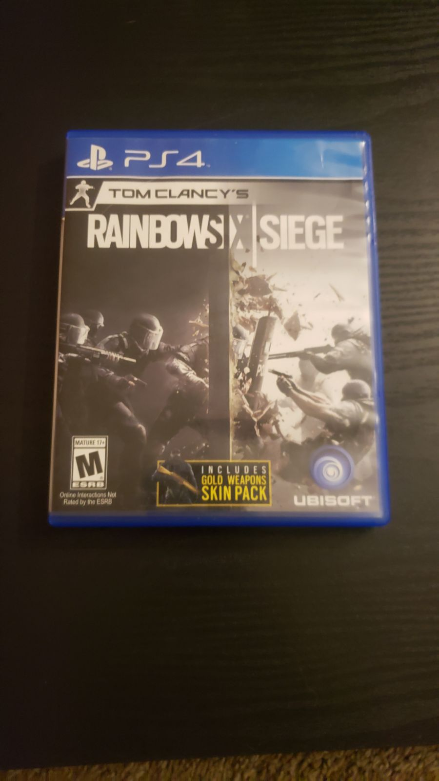 Rainbow Six Siege Playstation 4 PS4