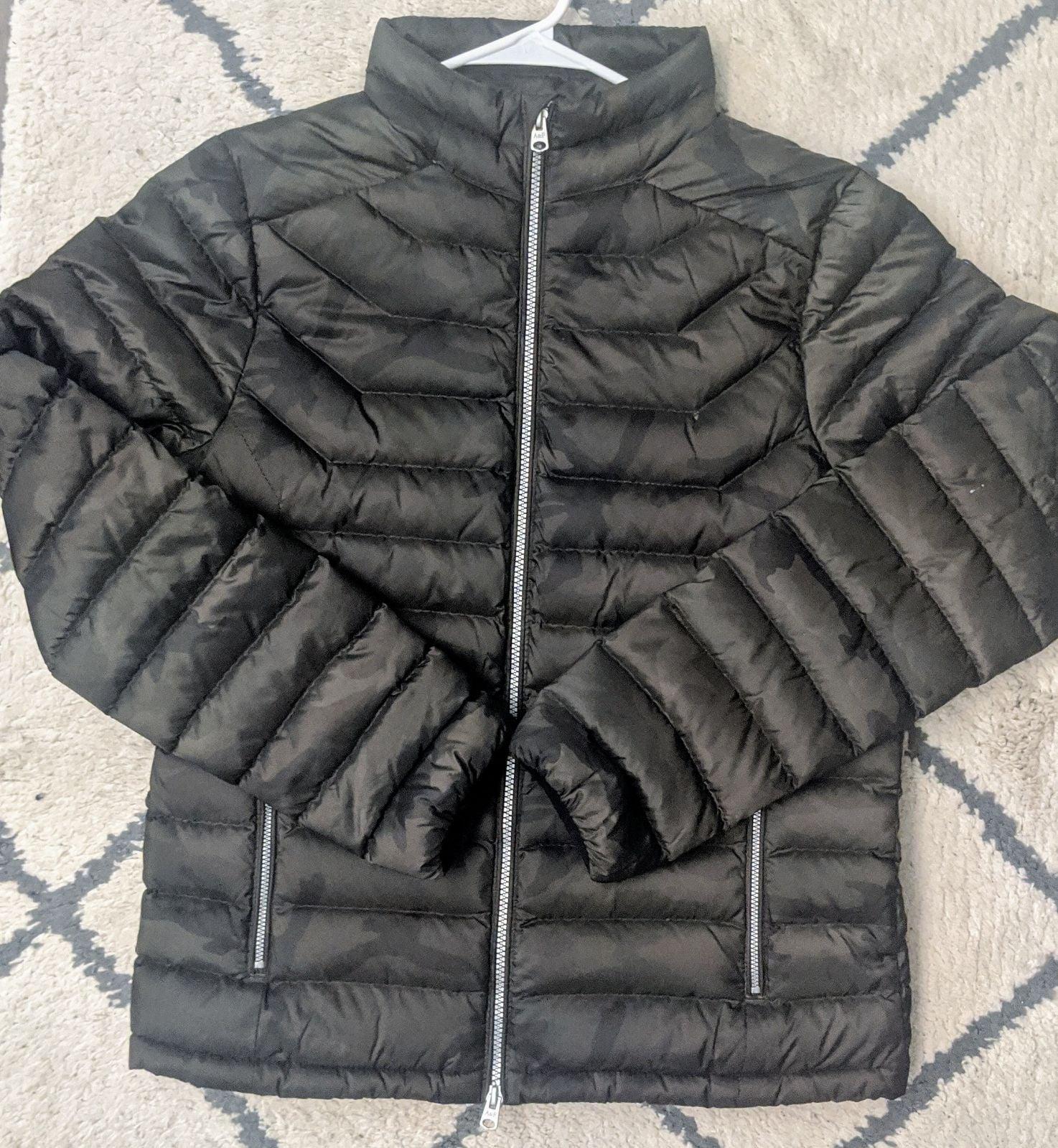Abercrombie & Fitch Camo Down Jacket