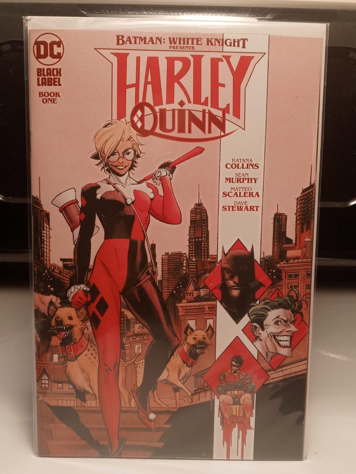 Harley quinn comics
