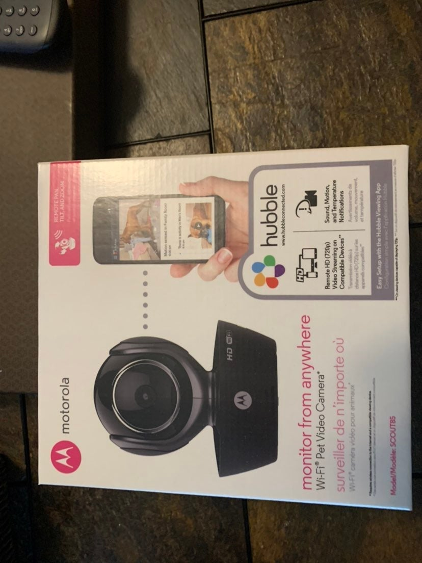 Motorola Pet Video camera