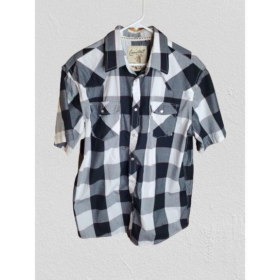 Coastal Men's Pearl Snap Western Shirt
