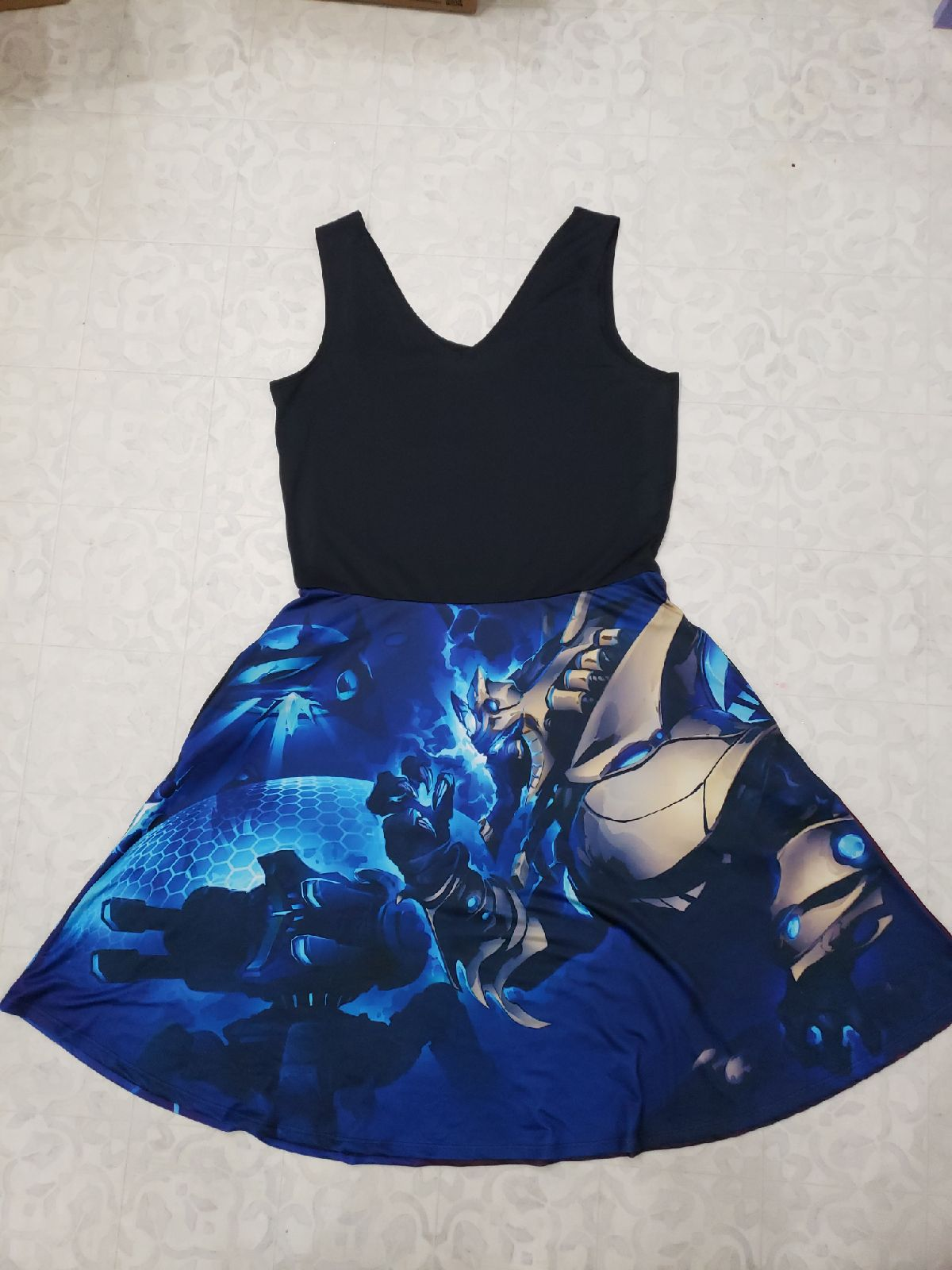 Reversible Starcraft II Dress Pockets!