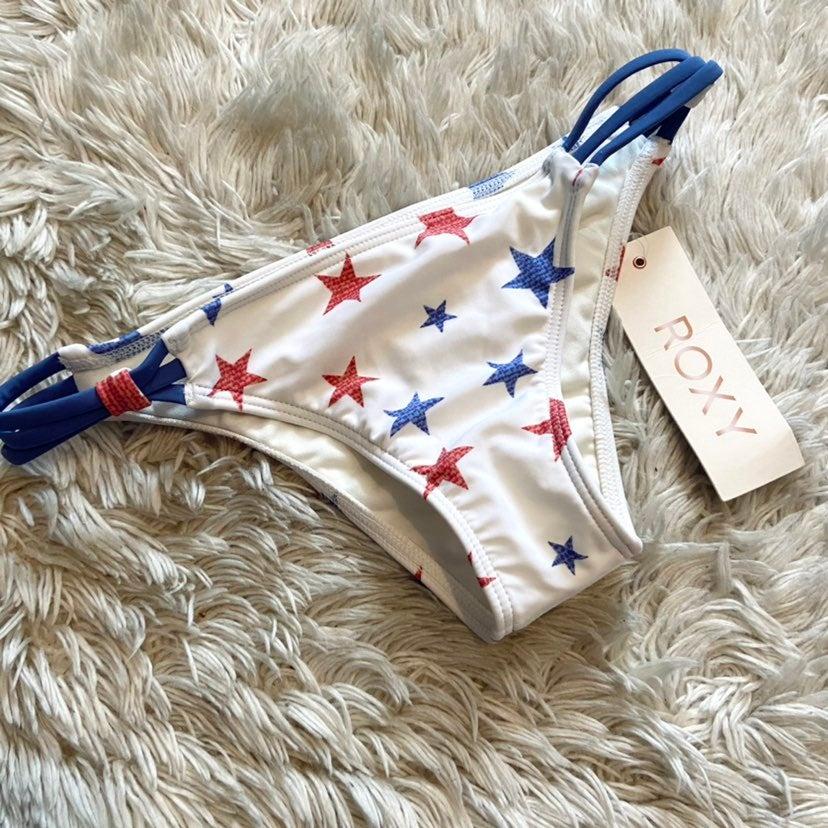 NWT! Roxy star bikini bottom