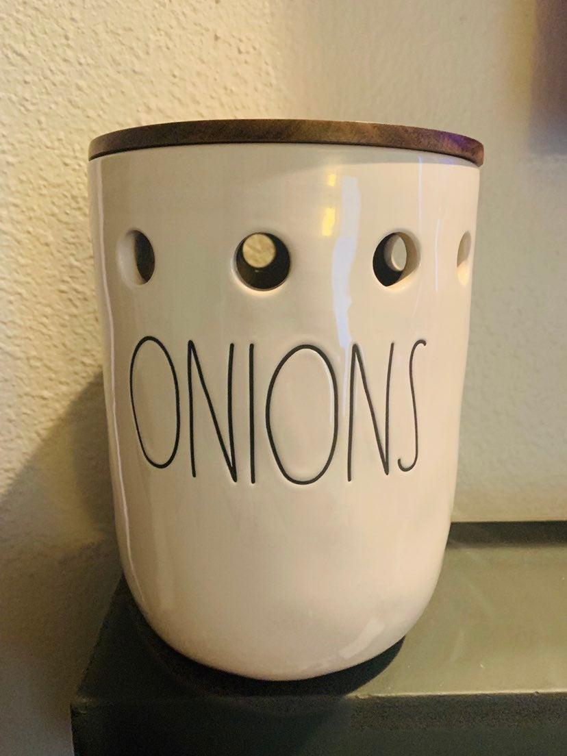 Rae Dunn Onion Cellar HTF BRAND NEW